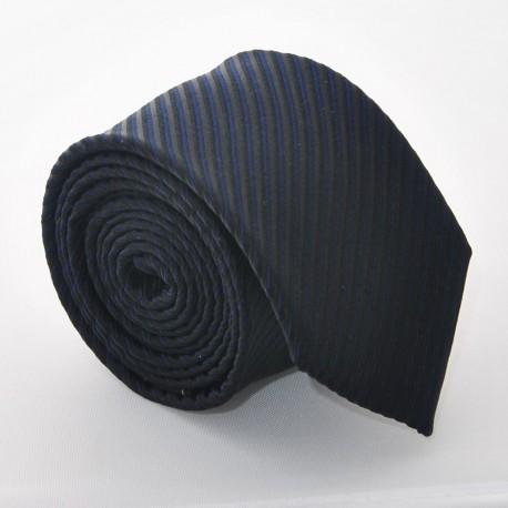 Hedvábná kravata ADRIANO GUINARI (černá 2)