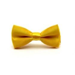 Dětský motýlek - žluto/zlatý