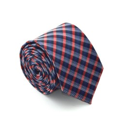 Károvaná kravata ANGELO di MONTI ADM-58