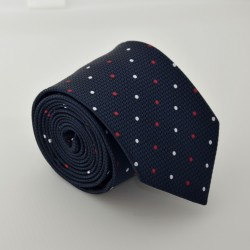 Tmavě modrá kravata ANGELO di MONTI ADM-62