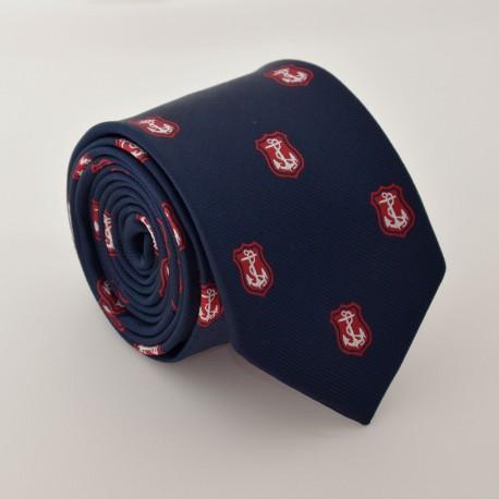 Modrá kravata ANGELO di MONTI ADM-63