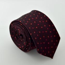 Vínová kravata ANGELO di MONTI ADM-64