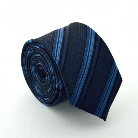 Černá kravata ANGELO di MONTI ADM-65