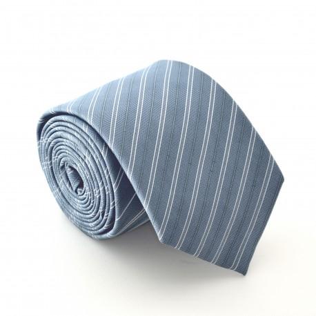 Šedá kravata ANGELO di MONTI ADM-67