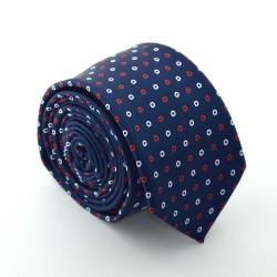 Modrá kravata ANGELO di MONTI ADM-71