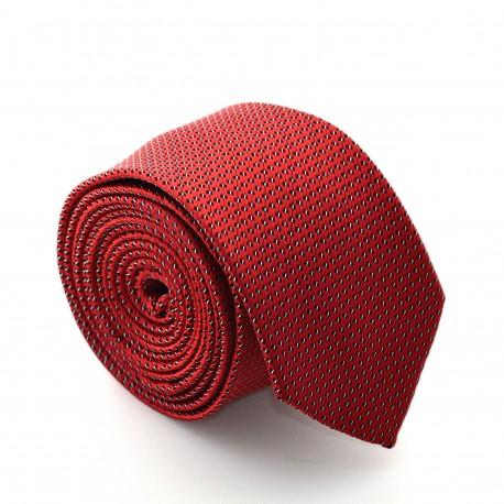 Červená kravata ANGELO di MONTI ADM-75