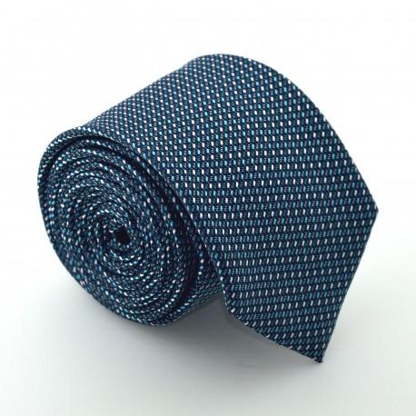 Modrá kravata ANGELO di MONTI ADM-77