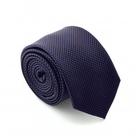 Modro fialová kravata ANGELO di MONTI ADM-78