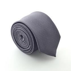Šedá kravata ANGELO di MONTI ADM-83