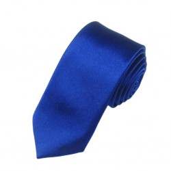 Modrá kravata II - lesklá