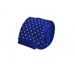 Pletená kravata - růžová