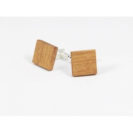 Dřevěné manžetové knoflíčky - klasik