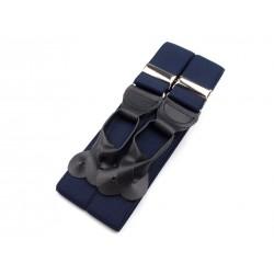 Kšandy - šle - modrá jeans 80