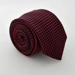 Červená kravata ANGELO di MONTI ADM-87