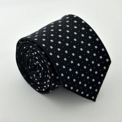 Černá kravata ANGELO di MONTI ADM-89