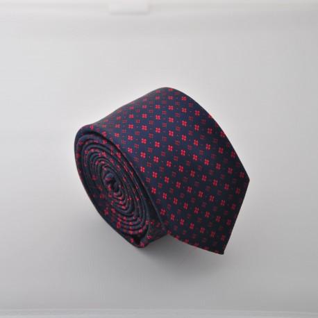 Tmavě modrá kravata ANGELO di MONTI ADM-91