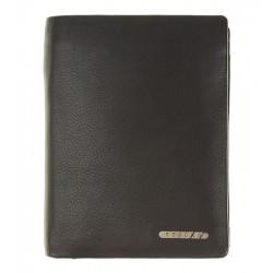 Klasická pánská kožená peněženka Tesoro černá