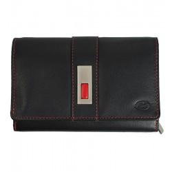 Dámská kožená peněženka Old River černá