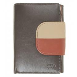 Dámská kožená peněženka Old River hnědá