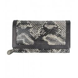 Dámská kožená peněženka Chiemsee s hadím vzorem