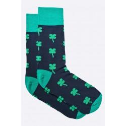 Pánské ponožky MORE černé s čtyřlístky 39/42