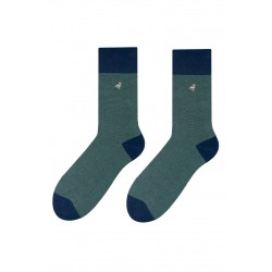 Pánské ponožky MORE zelené s patou 43/46