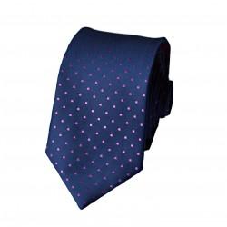 Černá kravata ANGELO di MONTI