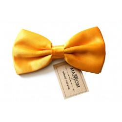 Pánský motýlek MARROM - žluto/zlatý