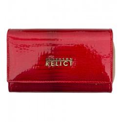 Dámská peněženka z lakované kůže Peterson červená