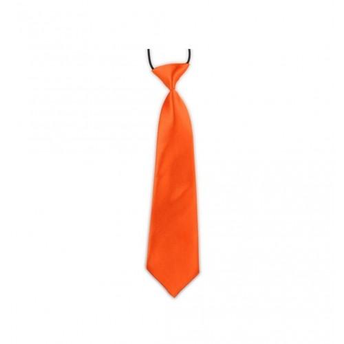 Dětská kravata - oranžová
