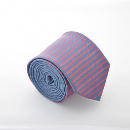 Šedá kravata ANGELO di MONTI