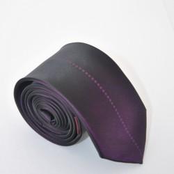 Fialová kravata 7 ANGELO di MONTI