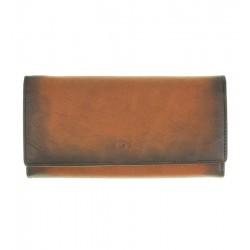 Dámská kožená peněženka DAAG koňak