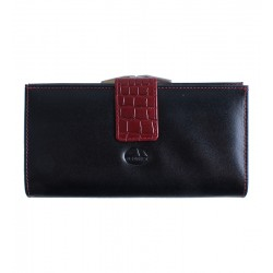 Dámská kožená peněženka El Forrest černá