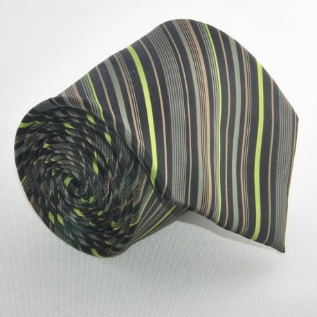 Zelená kravata 2 ANGELO di MONTI