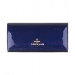 Dámská kožená peněženka Peterson světle modrá