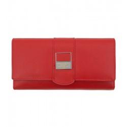 Dámská kožená peněženka Peterson červená 2