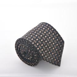 Hnědá kravata 3 ANGELO di MONTI