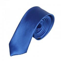 Jednobarevná SLIM kravata - modrá