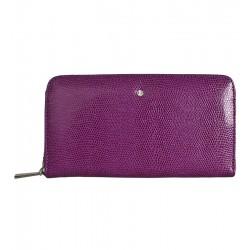 Dámská kožená peněženka Wojewodzic fialová