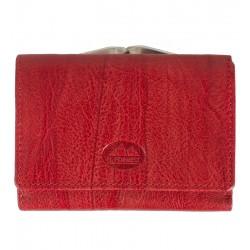 Dámská kožená peněženka El forrest červená