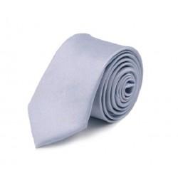 Levandulová kravata SLIM - lesklá