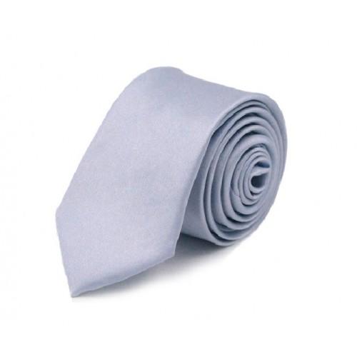 Jednobarevná SLIM kravata - levandulová