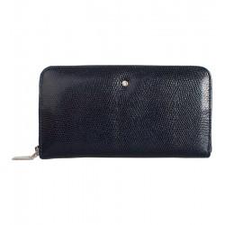 Dámská kožená peněženka Wojewodzic tmavě modrá