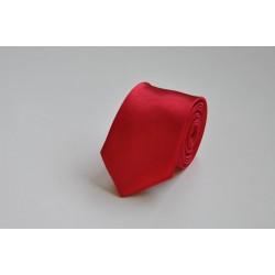 Jednobarevná SLIM kravata (malinová)
