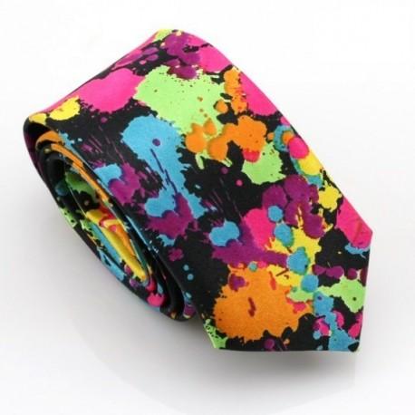Crazy kravata (černo-bílá)