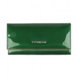 Dámská kožená peněženka Peterson zelená