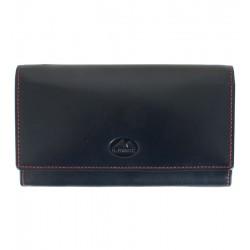 Dámská kožená peněženka El Forrest tmavě modrá