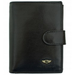 Pánská peněženka Peterson RFID černá
