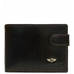 Pánská peněženka Peterson RFID hnědá